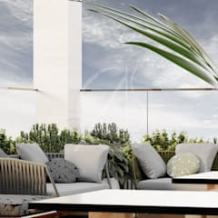 Roof terrace by Comelite Architecture, Structure and Interior Design