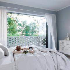 Complejo San Nicanor: Dormitorios de estilo  por Estudio BAC,Moderno