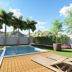 Front yard by Ortho Arquitetura