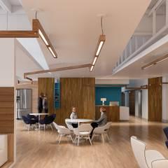 Iluminação para escritórios Escritórios escandinavos por Solis Iluminação Escandinavo