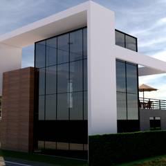 La casa Amanda de Arq. Bruno Agüero Moderno