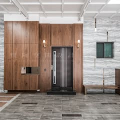 Classic style garage/shed by SING萬寶隆空間設計 Classic