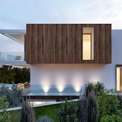Villas by Traçado Regulador. Lda, Modern Wood Wood effect