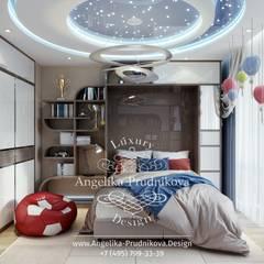 Dormitorios infantiles de estilo  por Дизайн-студия элитных интерьеров Анжелики Прудниковой, Industrial