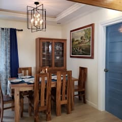Cozy Cottage:  Dining room by Geraldine Oliva