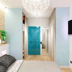 Tropical style dressing rooms by Goodinterior Наталья Жаляускене Tropical