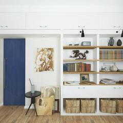 Study/office by Goodinterior Наталья Жаляускене , Country