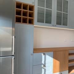 CSR - Construção e reabilitação - Apartamento em Telheiras Cozinhas modernas por CSR - Construção e Reabilitação em Lisboa Moderno