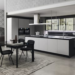 Built-in kitchens by Gramar,