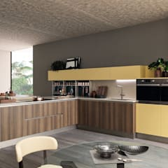 Cocina Sand : Cocinas integrales de estilo  por Gramar