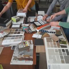 Projektowanie Wnętrz - szkolenie: styl , w kategorii Ściany zaprojektowany przez PRESTIGE-KURSY