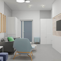 Study/office by Constantin Malinowski Interior Design and Decoration