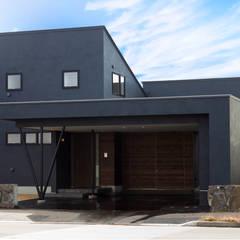 KK House in Sapporo: HOKUTO DESIGN OFFICEが手掛けた一戸建て住宅です。,オリジナル