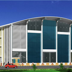 MK SHAH EXPORTS PVT.LTD:  Commercial Spaces by K. Thomas & Associates