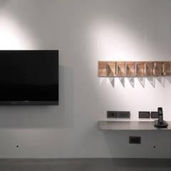 กำแพง โดย 形構設計 Morpho-Design, โมเดิร์น