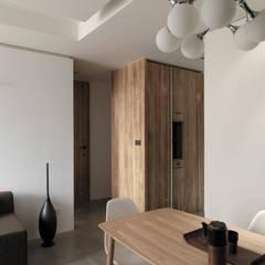 ห้องทานข้าว โดย 形構設計 Morpho-Design, โมเดิร์น