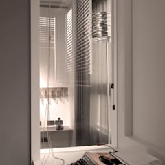ห้องทำงาน/อ่านหนังสือ โดย 形構設計 Morpho-Design, โมเดิร์น