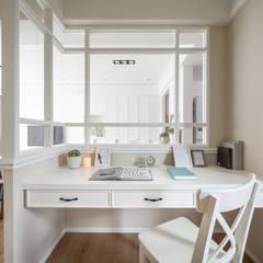Study/office by 存果空間設計有限公司, Colonial