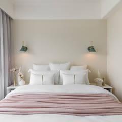 غرفة نوم تنفيذ 存果空間設計有限公司, إستعماري