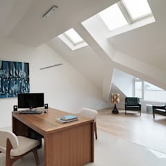Study/office by 形構設計 Morpho-Design, Country