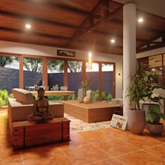Paranaque House Extension:  Study/office by JPSolatorio Architectural Design Services