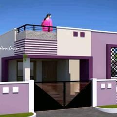Balcón de estilo  por Sonal K