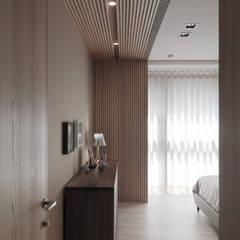 翰林院:  臥室 by 形構設計 Morpho-Design, 現代風