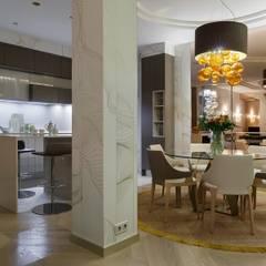La Dolce Vita: Столовые комнаты в . Автор – (DZ)M Интеллектуальный Дизайн