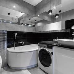 Apartament w Gdyni: styl , w kategorii Łazienka zaprojektowany przez Lux Interiors - projektowanie i aranżacja wnętrz Gdańsk, Gdynia, Sopot,