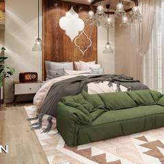 Bedroom:  غرفة نوم تنفيذ Eden Designs, حداثي