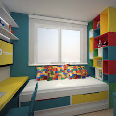 Boys Bedroom by Mari Milani Arquitetura & Interiores, Modern
