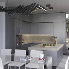 Villaggio: Столовые комнаты в . Автор – (DZ)M Интеллектуальный Дизайн,
