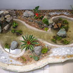 Estanques de jardín de estilo  por Juan Sebastián Jaramillo Lizarralde,