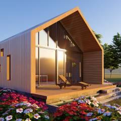 CASA C/V: Casas de campo de estilo  por Primer Clove Arquitectos