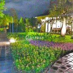 Estanques de jardín de estilo  por 瀧禾實業有限公司, Escandinavo Granito