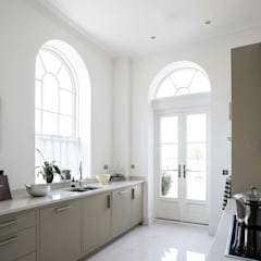 Wooden windows by Marvin Windows and Doors UK, Classic Engineered Wood Transparent