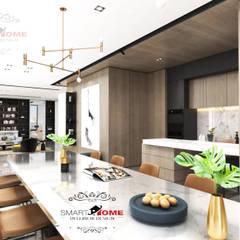 مشروع سكنى مدينة 6 اكتوبر:  مطبخ تنفيذ smarthome