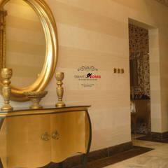فيلا سكنية المملكة العربية السعودية (الرياض):  الممر والمدخل تنفيذ smarthome, حداثي