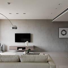 Ruang Keluarga oleh 形構設計 Morpho-Design, Modern