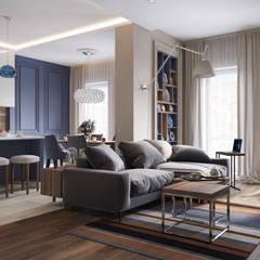 غرفة المعيشة تنفيذ ACOR HOME LIFE SOLUTIONS
