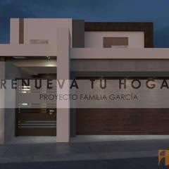 CASA GRAN SEGOVIA: Casas multifamiliares de estilo  por Domus Constructora