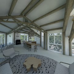 by Mazorra Studio Modern Solid Wood Multicolored