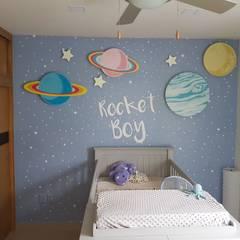 Dormitorios de bebé de estilo  por Vinilos Agogo, Moderno
