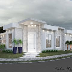 Terrace house by Celis Bender Arquitetura e Interiores