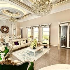 Decorvita mimarlık – Toskana Vadisi Villaları 2:  tarz Oturma Odası,