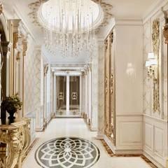 Decorvita mimarlık – Toskana Vadisi Villaları 2:  tarz Koridor ve Hol, Klasik