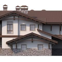 Бероль_563 кв.м: Дома в . Автор – Vesco Construction, Азиатский