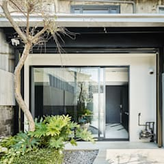 Taman zen oleh 理絲室內設計有限公司 Ris Interior Design Co., Ltd., Minimalis Beton Bertulang