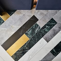 Floors by 理絲室內設計有限公司 Ris Interior Design Co., Ltd., Classic Copper/Bronze/Brass