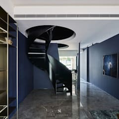 生生創研|XOR Creative Research:  樓梯 by 理絲室內設計有限公司 Ris Interior Design Co., Ltd.,